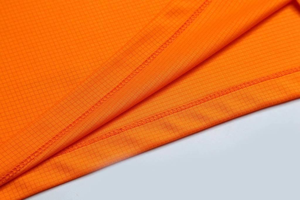 短袖夏季圆领吸汗速干透气文化衫 运动T恤跑步健身衣 橘色细节